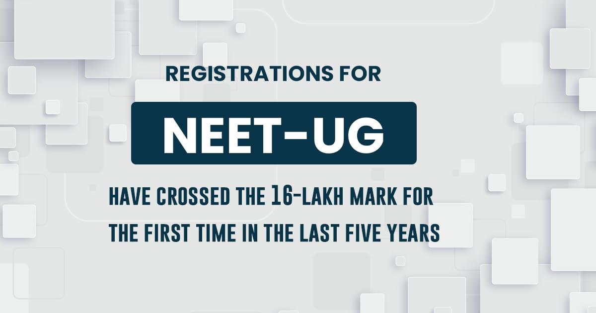 NEET-UG 2021 exam; the record-breaking number of aspirants
