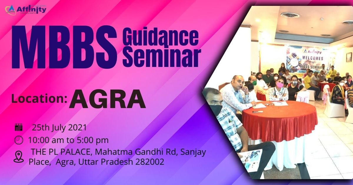 MBBS Abroad Guidance Seminar 2021 in Agra - Affinity Education