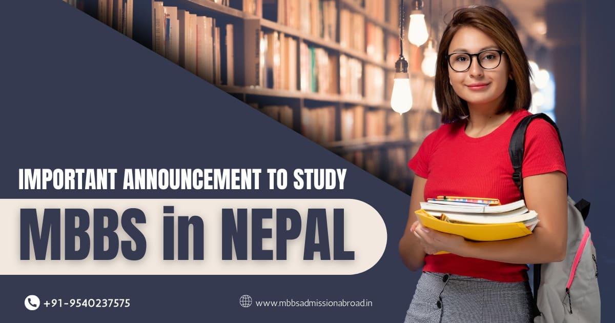 MBBS in Nepal 2021: Admission Application Process Starts, Check Details Now