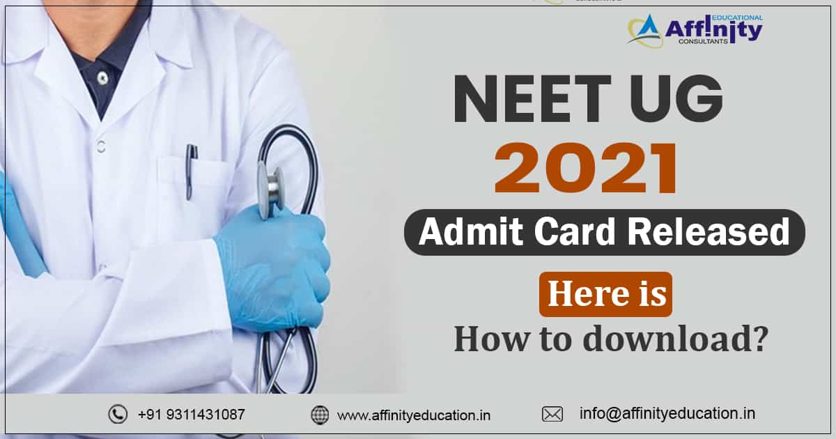 NEET 2021 ADMIT CARD RELEASED: CHECK NOW HOW TO DOWNLOAD