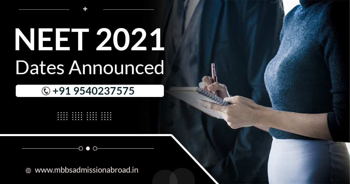Big News: NEET Exam 2021 Date (Announced) By NTA, Check it Now!!