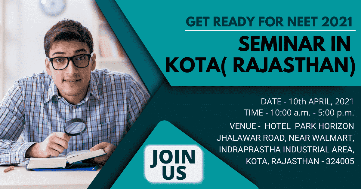 Want to Ace NEET 2021 Preparation Tips? | Free Seminar in Kota | Join Us!!
